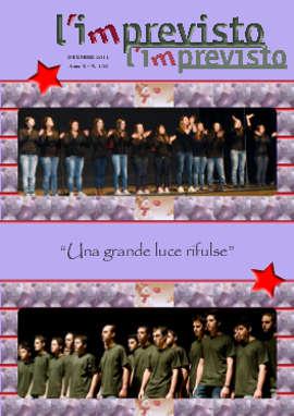 L'imprevisto - Giornalino Dicembre 2011 - Dicembre 2011