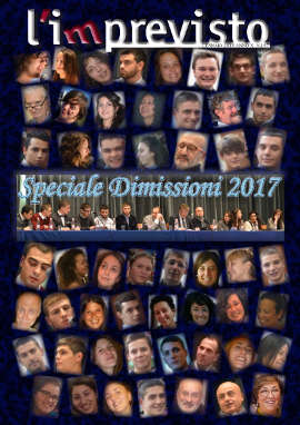 L'imprevisto - Giornalino Dicembre 2017 - Dimissioni 2017