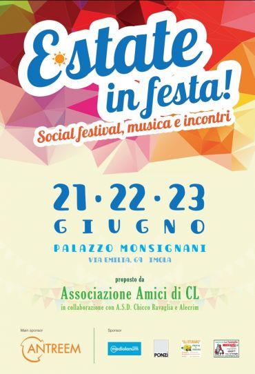 Estate in Festa - incontro con Silvio Cattarina a Imola