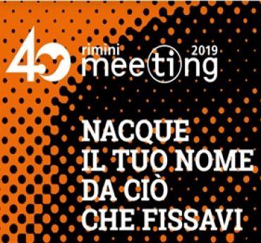 24 agosto 2019 alle ore 11.30 - incontro con Silvio Cattarina - Meeting 2019