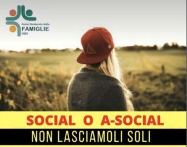 SOCIAL o A-SOCIAL: non lasciamoli soli - incontro con Silvio Cattarina