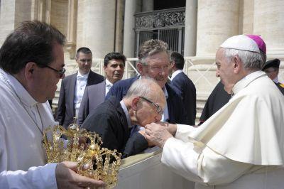 L'Imprevisto in udienza dal papa 06 Giugno 2018
