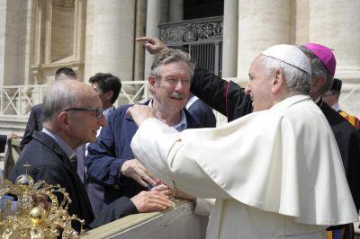 L'imprevisto in udienza dal Papa 6 Giugno 2018